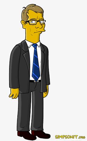 Matti Vanhanen Simpsonit