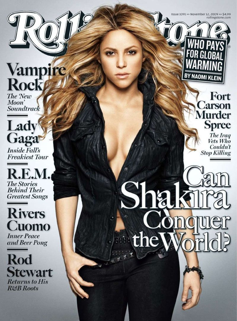 Shakira Rolling Stone
