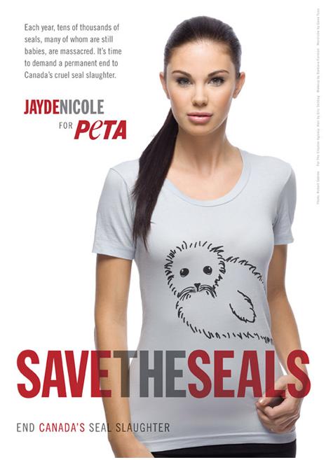 Jayde Nicole PETA