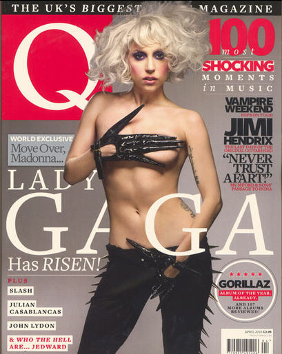 Lady Gaga Q Magazine