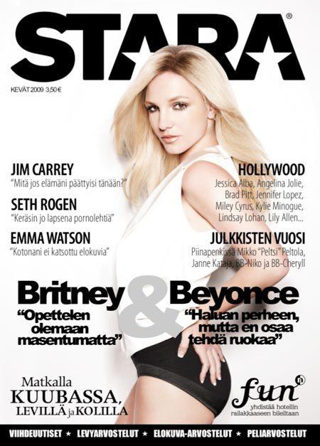 Britney Spears Stara Magazine Cover