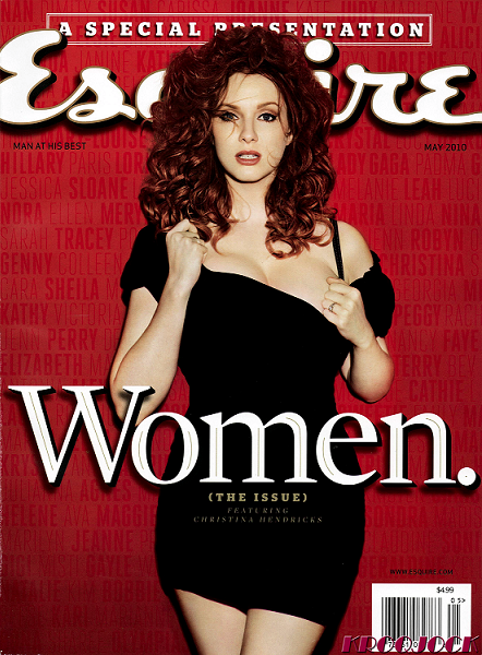Christina Hendricks Esquire