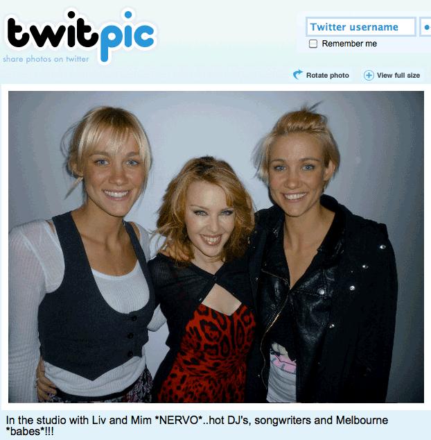 Kylie Minogue Mim Liv Nervo