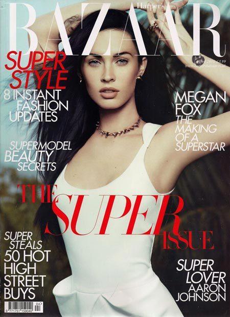 Megan Fox Harpers Bazaar April 2010