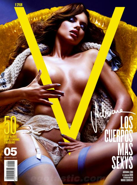Adriana Lima V Magazine