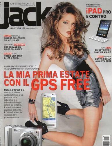 Ashley Greene Jack Cover
