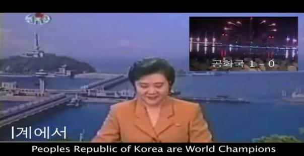Pohjois-Korean MM-voitto