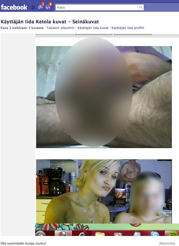 Iida Ketola Facebook pornokuva