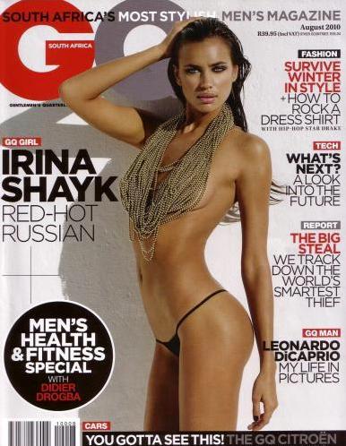 Irina Sheik GQ