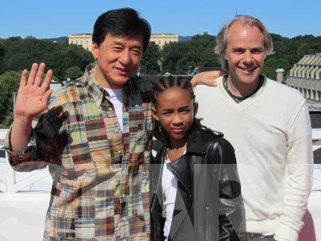 Jaden Smith Jackie Chan Oslossa