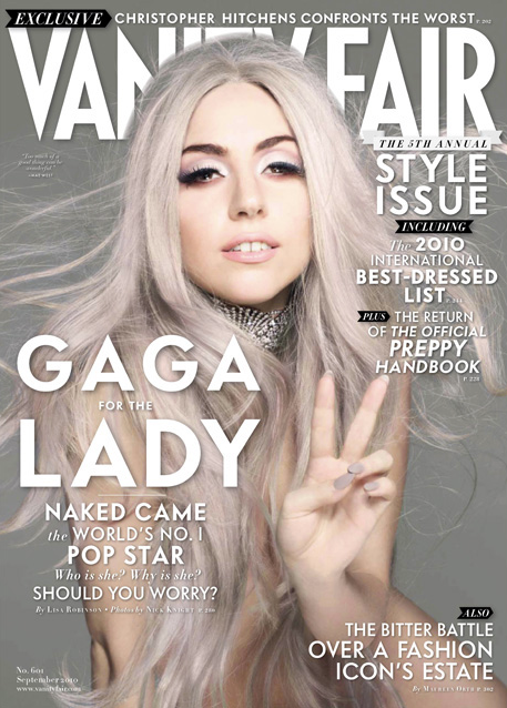 Lady Gaga Vanity Fair 2010