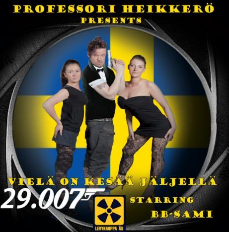 Professori Heikkerö ja BB-Sami kansi