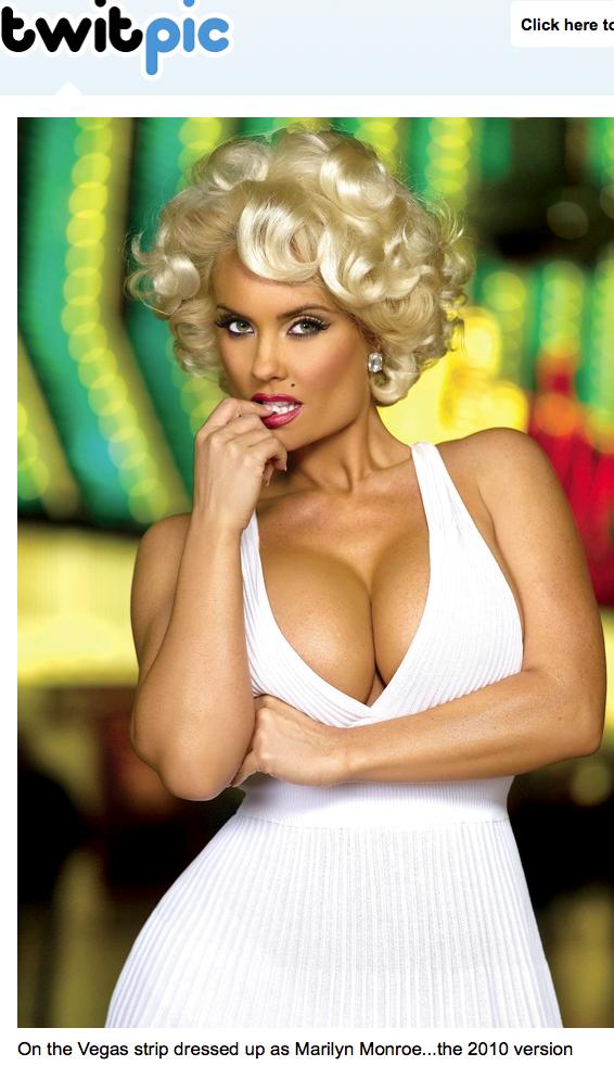 Coco Nicole Austin Marilyn Monroe