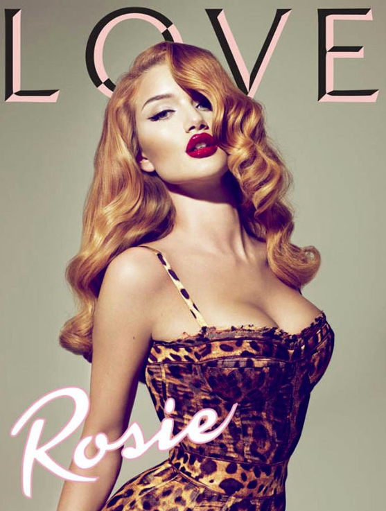 Rosie Huntington Whiteley Love Magazine