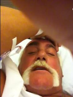 Hulk Hogan sairaalassa