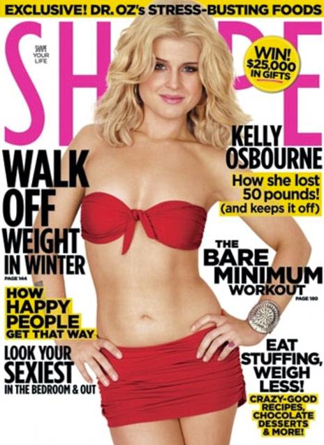 Kelly Osbourne Shape
