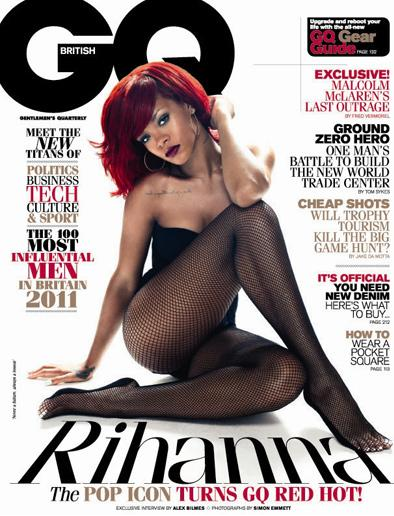 Rihanna GQ UK cover