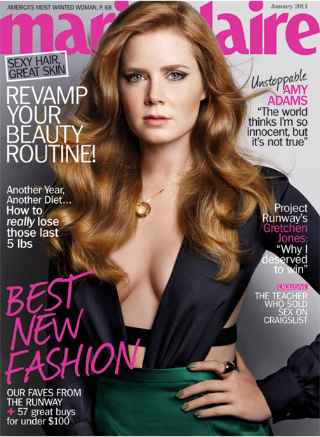 Amy Adams Marie Claire