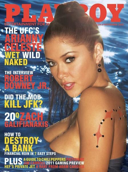 Arianny Celeste Playboy
