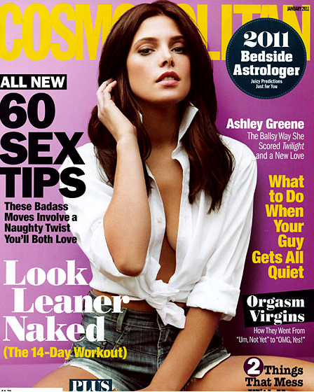 Ashley Greene Cosmopolitan