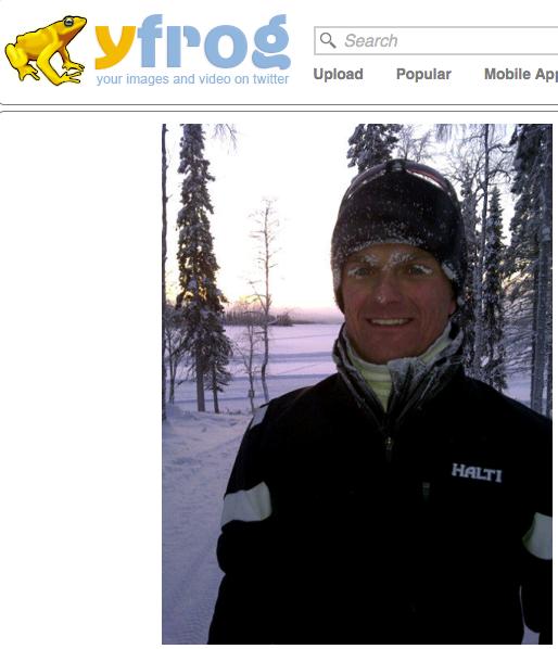 Heikki Kovalainen lenkillä