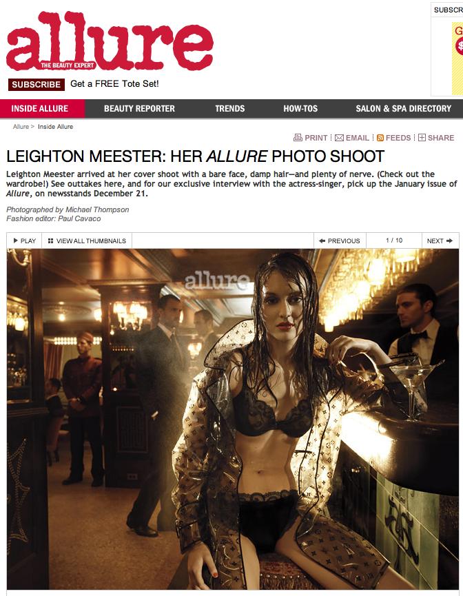 Leighton Meester Allure