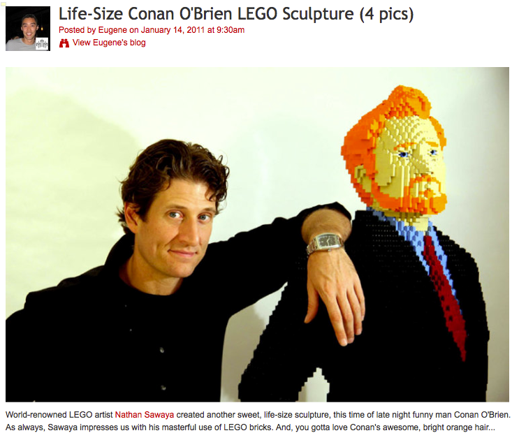 Conan OBrien lego