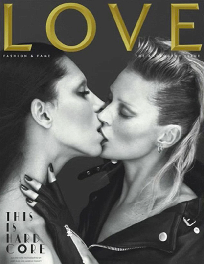 Kate Moss Love Cover