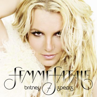 Britney Spears Femme Fatale Cover