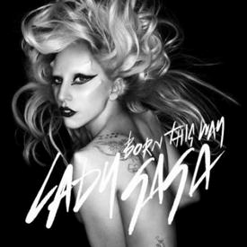 Lady Gaga Born This Way single cover