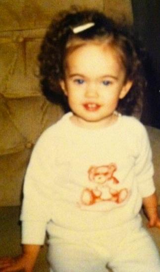 Megan Fox lapsena
