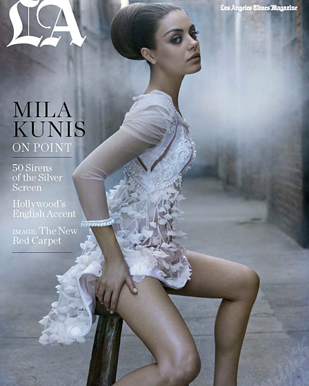 Mila Kunis Los Angeles Times