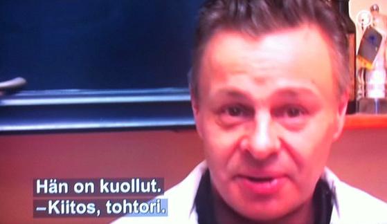 Johanna Tukiainen TV Viisi hääohjelma