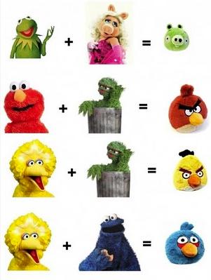 Angry Birds Sesame Street