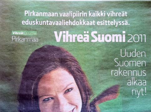 Uusi Suomi Vihreä Suomi