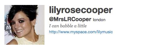 Lily Rose Cooper Allen