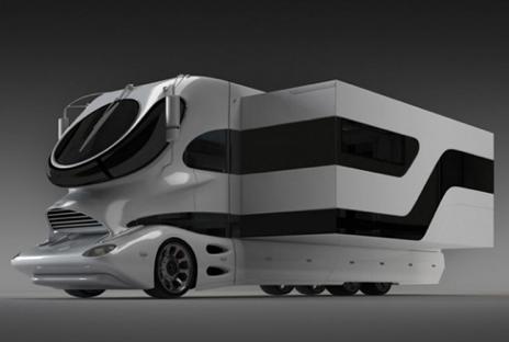 Top gear esitteli maailman kyimm n matkailuauton stara for Camping car de luxe avec piscine