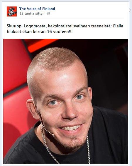 Kuva: Facebook, The Voice of Finland