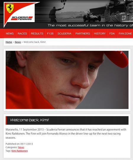 Kuva: Ferrari.com