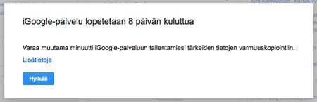 Kuva: iGoogle