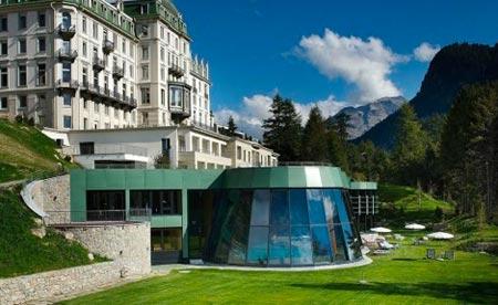 Grand Hotel Kronenhof, Sveitsi
