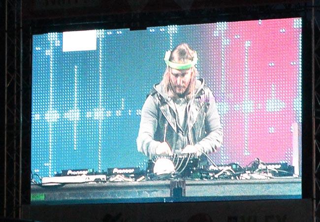 David Guetta Ruisrockissa 2014, Kuva: Stara