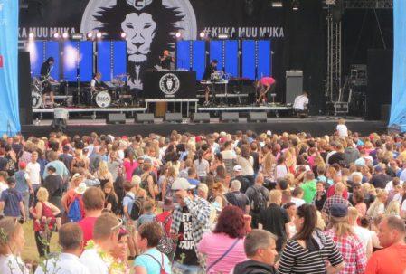 Cheek Tammerfesteillä, Kuva: Stara