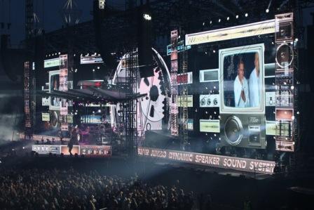 Cheekin konsertti Olympiastadionilla. Kuva: Stara
