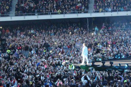 Cheek Olympiastadionilla. Kuva: Stara