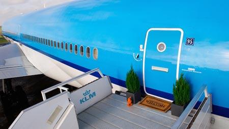 KLM, Airbnb