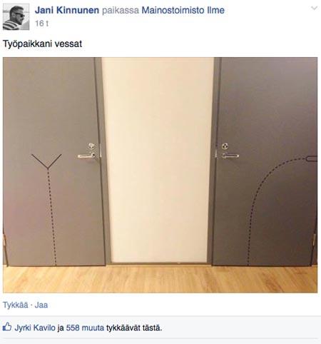 Facebook, Mainostoimisto Ilme, Kyltinarvostajat