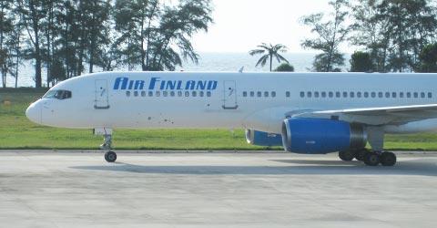 Air Finland Boeing 757 Phuketissa, Kuva: Stara