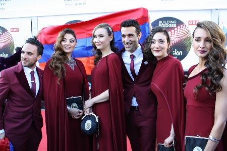 Armenian euroviisuedustus. Kuva: Heidi Maijala, Stara