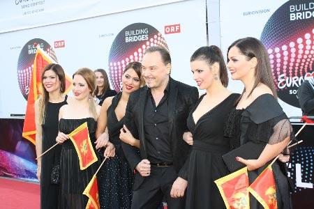 Montenegron euroviisuedustus. Kuva: Heidi Maijala, Stara